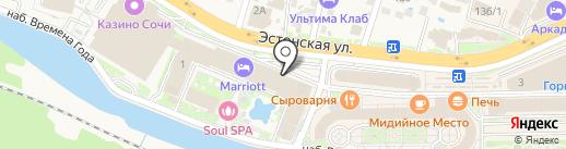 Старт на карте Сочи