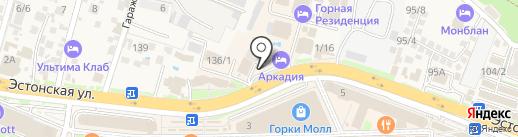 Johnny`s Rent на карте Сочи