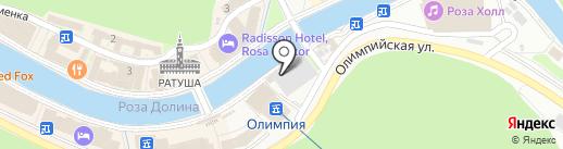 Lavanda 6 на карте Сочи