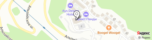 Wok-Away! на карте Сочи