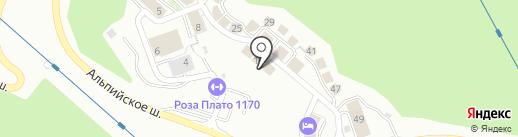 Hotel Boogel Woogel Bar на карте Сочи