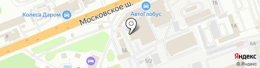 Космос на карте Владимира