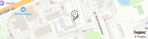 Владбизнесбанк, ЗАО на карте Владимира