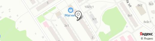 Юлия на карте Архангельска