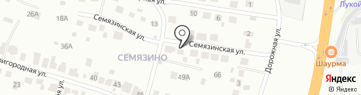 Золотой Пиос на карте Владимира
