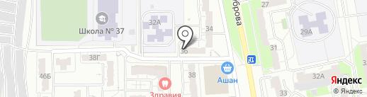 Участковый пункт полиции №3 на карте Владимира