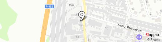 Магазин на Ставровской на карте Владимира