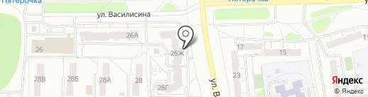 Точка мяса на карте Владимира