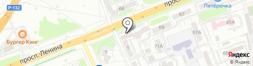 iRobot33 на карте Владимира