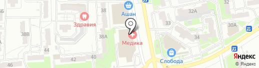 Империя люстр на карте Владимира