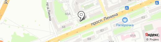 Центр страховых выплат на карте Владимира
