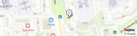 МТС на карте Владимира