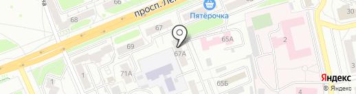 Акцент-М на карте Владимира