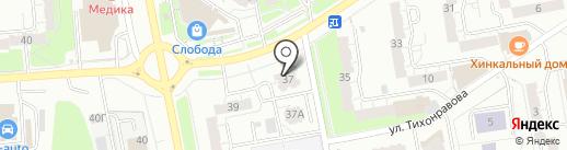 Техносэконд на карте Владимира