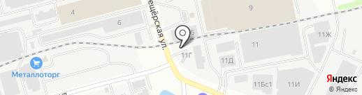 NNV на карте Владимира