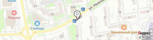 Банкомат, Сбербанк, ПАО на карте Владимира