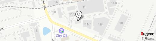 Изметалла на карте Владимира