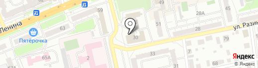 Страховая компания на карте Владимира