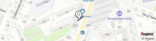 Капитан на карте Владимира