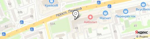 Плюшка на карте Владимира