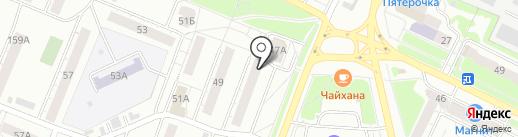 Радуга на карте Владимира