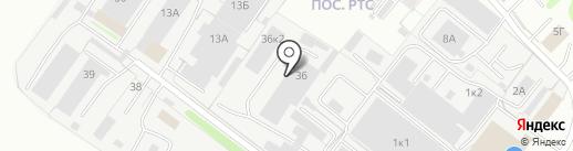 Пластрак на карте Владимира