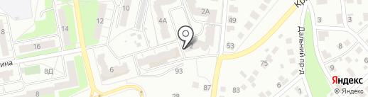 Стоматология на Василисина на карте Владимира