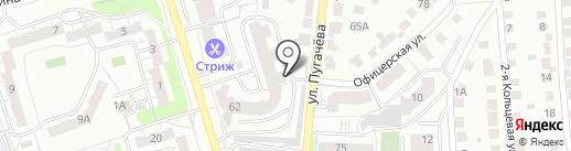 Пугачева 62, ТСЖ на карте Владимира