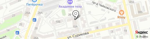 Всероссийское общество глухих на карте Владимира