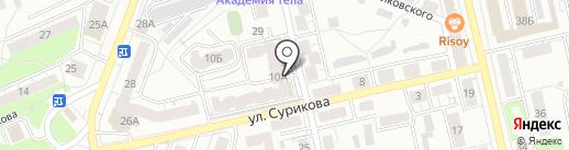Фармедасс на карте Владимира