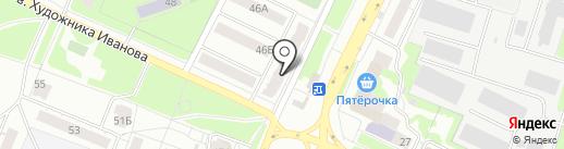 Владимирский бройлер, ЗАО на карте Владимира