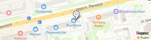 Магазин уцененных журналов на карте Владимира