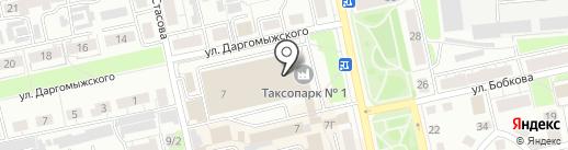 Автомойка на карте Владимира