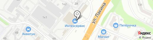 Авико на карте Владимира