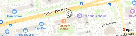 Салон часов на карте Владимира