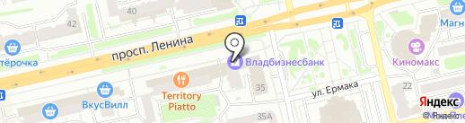 Банкомат, Владбизнесбанк, ЗАО на карте Владимира