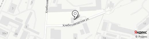 Квадро на карте Владимира