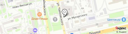 Розмарин на карте Владимира