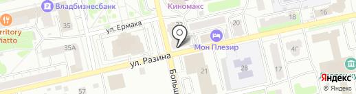 Beauty Lady Studio на карте Владимира