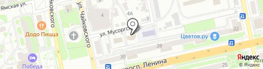 Лесогорье на карте Владимира