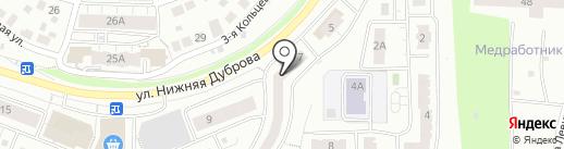 ИВТБС ВЛАДИМИРСКИЙ на карте Владимира