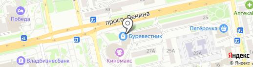 Имя Фамилия на карте Владимира