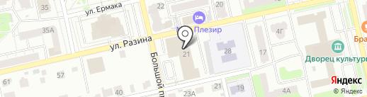 Install-TRADE на карте Владимира