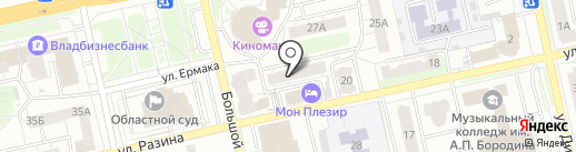 Романова на карте Владимира