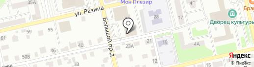 Актион-пресс на карте Владимира