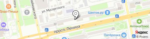 Дом-Сад-Огород на карте Владимира