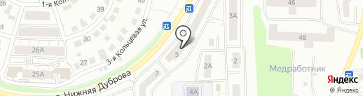 Доступный дом на карте Владимира