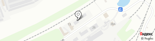 Карельский гранит на карте Владимира