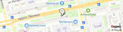 Автошкола на карте Владимира