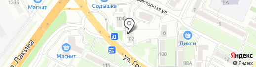Успех на карте Владимира
